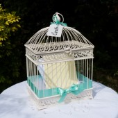 Bird Cage Card Post Box